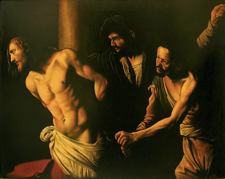 Christ at the column(caravaggio.jpg