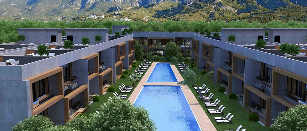 Apartments with 2 Bed rooms for sale in Dogankoy, Girne. Apartments...