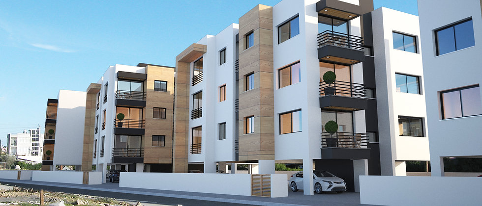 The Flats are inGönyeli, NorthernCyprus with all necessary amenities required.