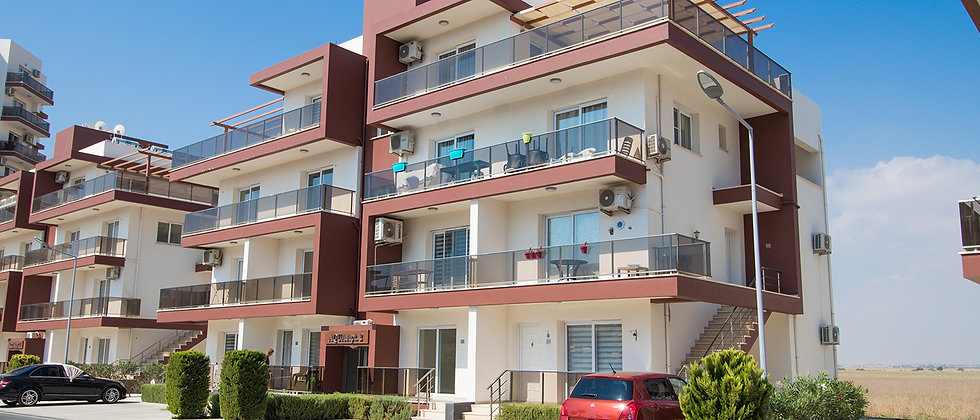 Aqua Apartments offer three different models to choose from: 1+1, 2+1 Apartments