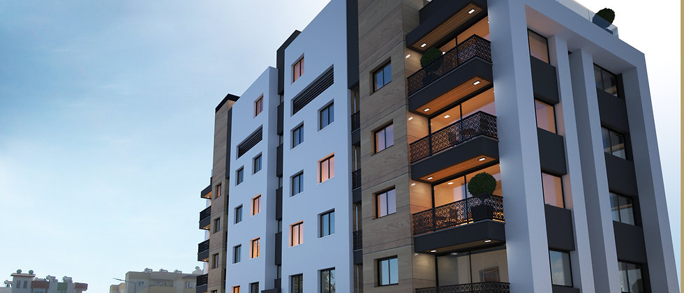 Apartments in Kaymakli, Lefkosa (Nicosia). The apartment have following: