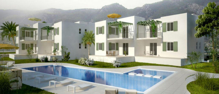 2 Bed rooms Apartments with 73m2-86m2size and have a bright open-plan design...