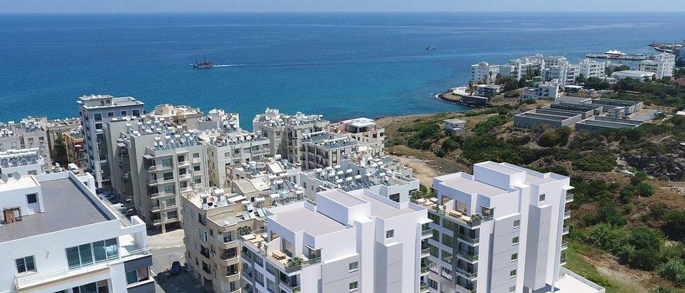 1+2, 1+3 Apartments for sale in the heart of Kyrenia