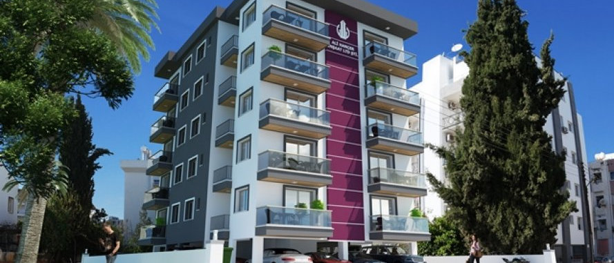 1+2 BedroomFlats in the center of Girne (Kyrenia) with Turkish Tittle Deeds.