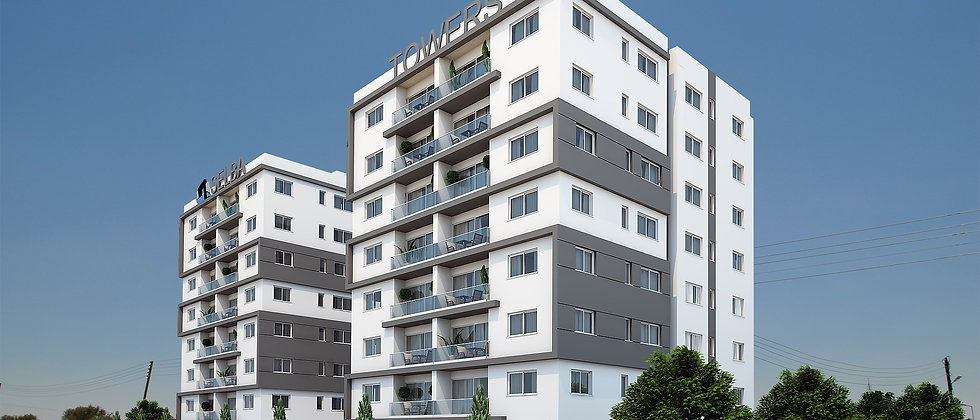 2 + 1 luxurious apartments in Minarelikoy, Lefkosa for sale