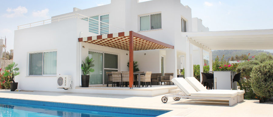 Detached villas in Esentepe with 155 m2, close to Korineum Golf Course...