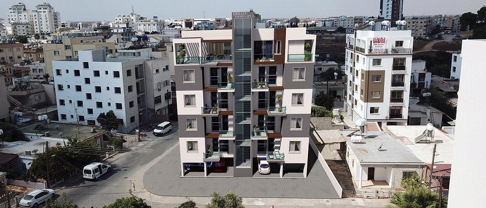 Apartments in a 5 floors building available for sale in Sakarya, Gazimağusa