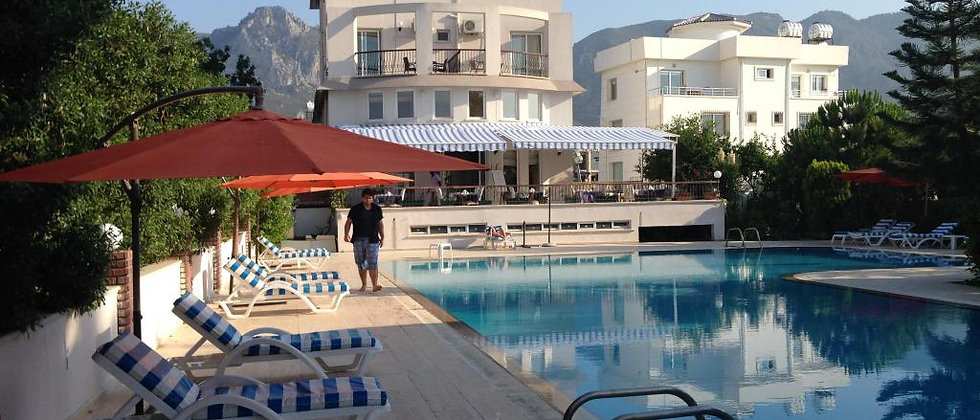 Boutique Hotel in Kyrenia with a vintage touch,stunning mountains and sea views