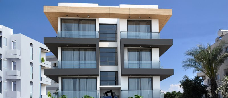 2 + 1 Luxurious apartments for sale in Yenikent, Lefkosa