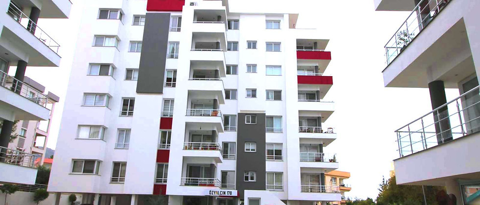 Luxury 3 bedrooms penthouse with an en-suite at Girne city center