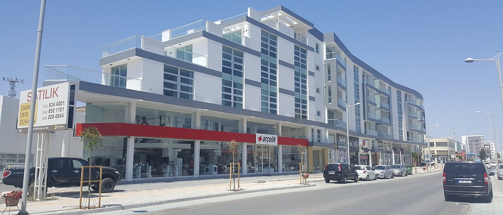 Luxury Apartments 2+1,3+1 and 4+1 bedrooms in Yenikent, Lefkosa (Nicosia)