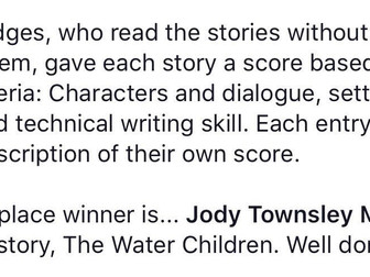"""""""The Water Children"""" For The Win!"""