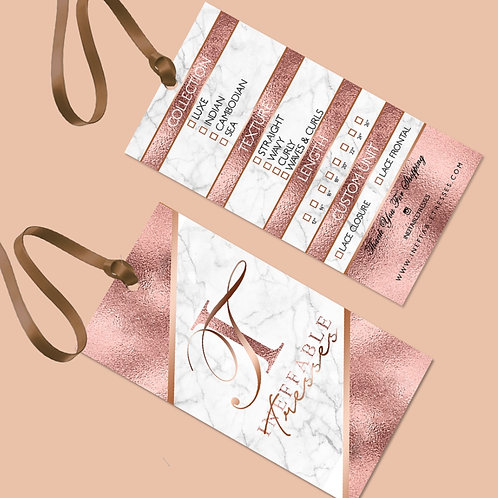 Hang Tags (Design Only)