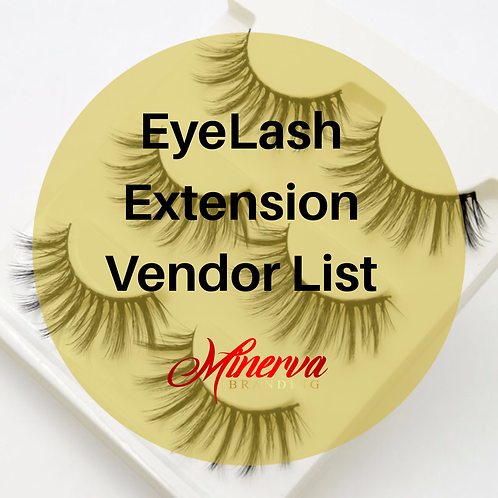 Eyelash Extension Wholesale List