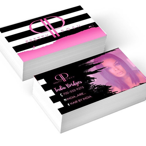 Business Card Design (Design Only)