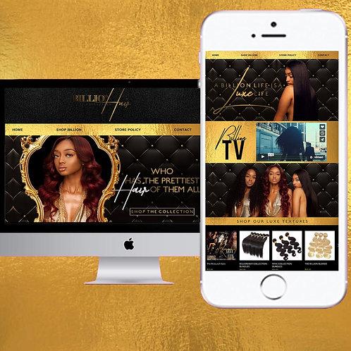 Logo + Premium Website Package