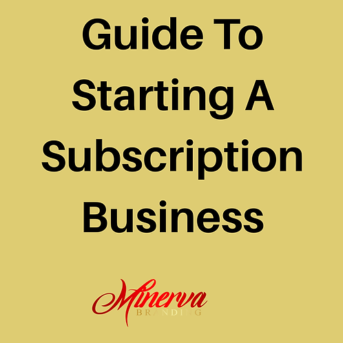 Guide To Starting A Subscription Business