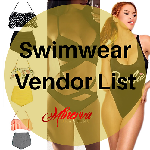 Swimwear Wholesale List