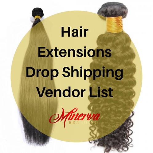 Hair Extensions Drop Shipping Vendor List