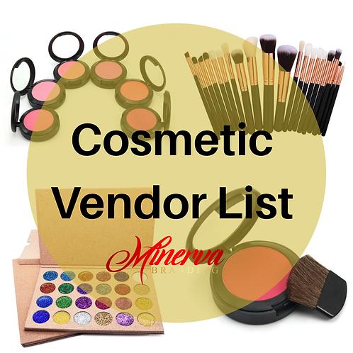 Cosmetic Wholesale List