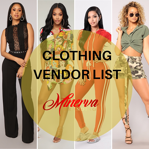 Clothing and Shoes Wholesale