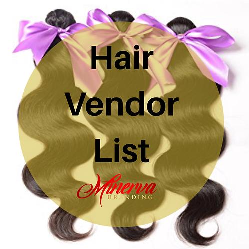 Hair Extensions Wholesale List