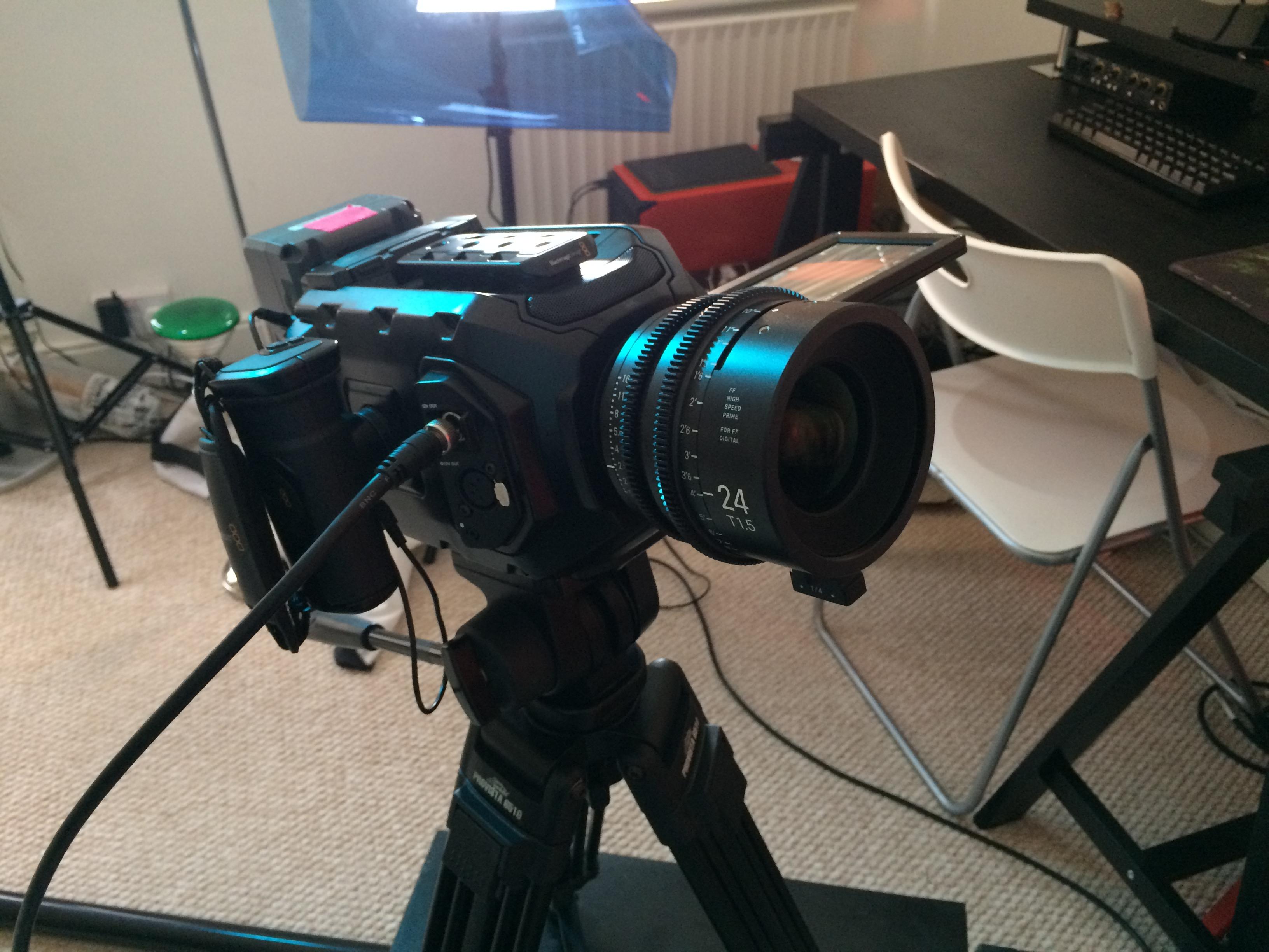Black Magic Ursa Mini 4k Camera