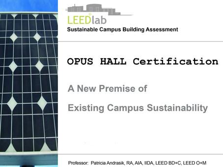 OPUS HALL LEED v4 O+M:EB Project