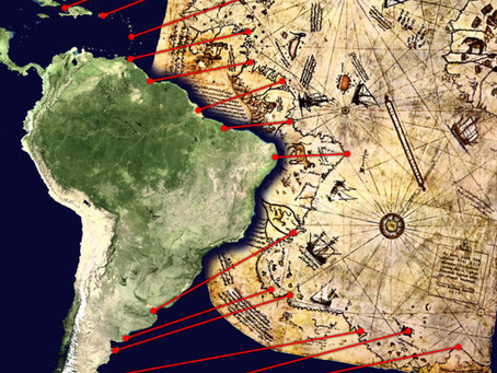 38. Piri Reis Map of Antarctica