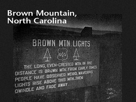 3. Brown Mountain Lights