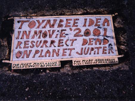 9. Toynbee Tiles