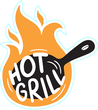 Hot Grill Flame