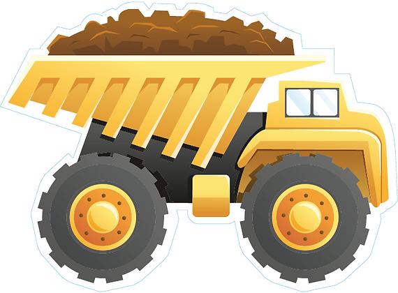 Dump Truck - Yellow