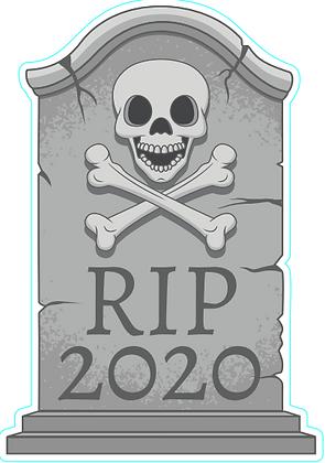 Headstone - RIP 2020
