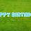 Thumbnail: HAPPY BIRTHDAY Letter Set - Light Blue