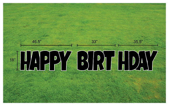 "HAPPY BIRTHDAY 18"" EZ Set 3pc - Luckiest Guy"