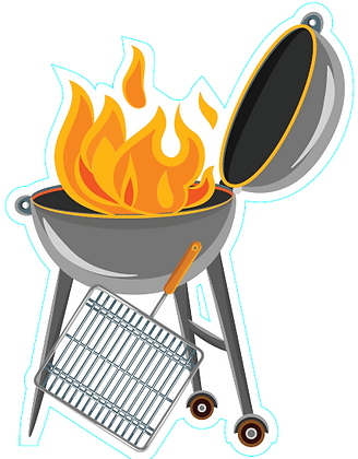 Grill w/ Flames