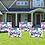 Thumbnail: Happy Birthday Yard Sign - Pink Personaalized