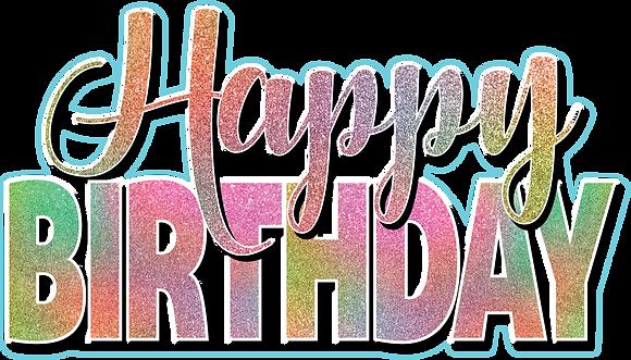 Happy Birthday Mini Set - Rainbow Pastel