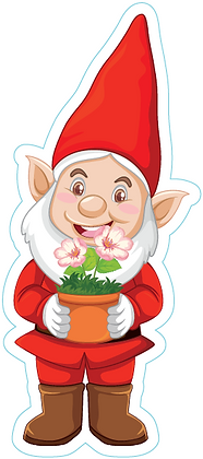 Garden Gnome_Red
