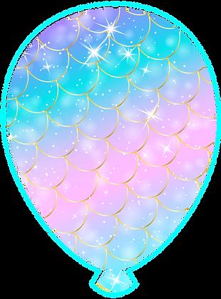 Balloon: Mermaid