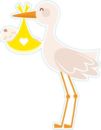 Baby Neutral- Stork