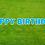 Thumbnail: HAPPY BIRTHDAY Letter Set - Bright Blue