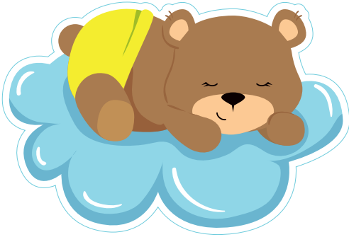 Baby Neutral- Sleeping Bear