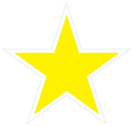 Star (Sharp Edge): Yellow