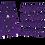 Thumbnail: Letter -Purple Sparkle