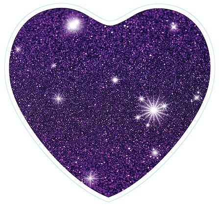 Heart_Purple Sparkle