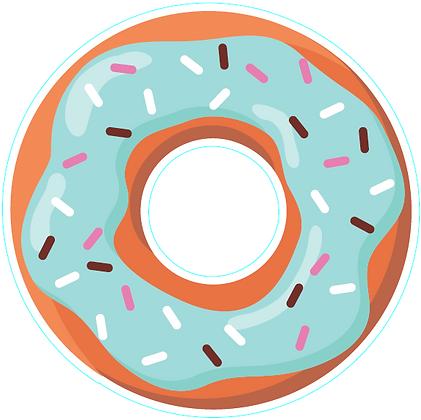 Food: Donut_Blue