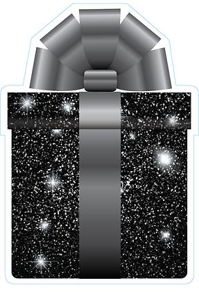 Present: Black Sparkle