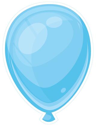 Balloon: Light Blue